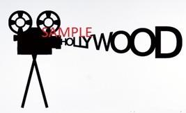 HOLLYWOOD MOVIE CAMERA CROSS STITCH CHART - $10.00