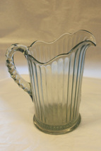 Vintage Blue Glass Lined Pitcher - $99.00