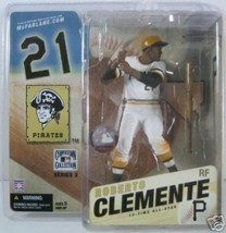 Roberto Clemente McFarlane Cooperstown Baseball Figure (White Jersey) - Mint ... - $88.11