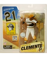 Roberto Clemente McFarlane Cooperstown Baseball Figure (White Jersey) - ... - $88.11