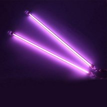 E Support 12 Inch 30cm Car Purple Undercar Underbody Neon Kit Lights CCFL Col... - $9.89