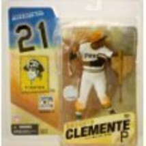 Roberto Clemente McFarlane Cooperstown White Uniform Pittsburgh Pirates ... - $84.15