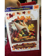 "Classic Clings ""Happy Harvest"" Fall Static Window Cling - $4.99"
