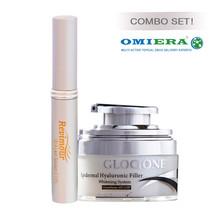 Omiera Labs Glocione Anti-Aging Skin Cream + Revimour Lash Growth Enhancer - $49.99