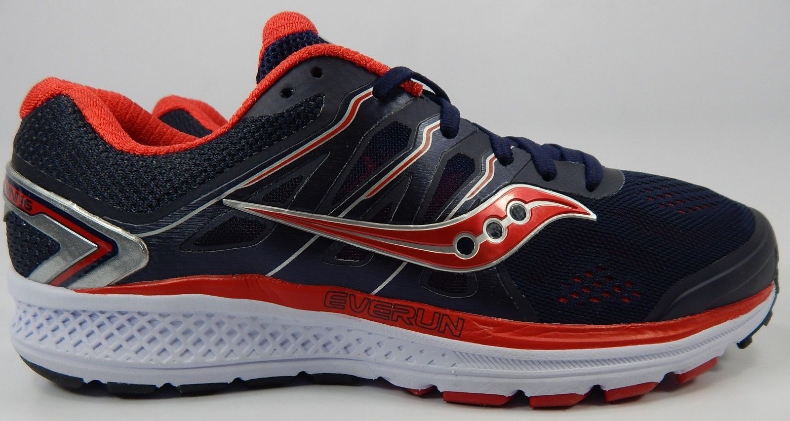 Saucony Omni 16 Size US 10 M (D) EU 44 Men's Running Shoes Blue Red S20370-2
