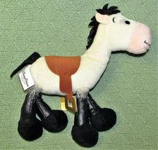 "9"" TOY STORY BULLSEYE RACE HORSE STUFFED ANIMAL DISNEY PLUSH TAN BLACK #5 TOY image 3"