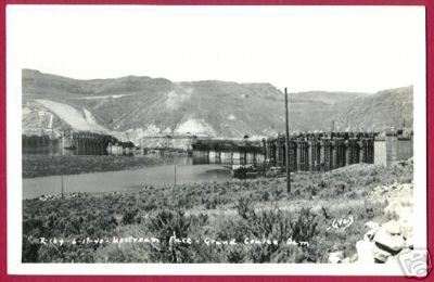 MASON CITY WASHINGTON Coulee Dam Upstream RPPC Gray WA