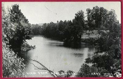 HART MICHIGAN View fr West Bridge RPPC MI