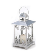 oos Silver Scrollwork Candle Lantern - $13.99