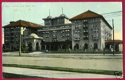 LONG BEACH CALIFORNIA Hotel Virginia CA Vintage PC