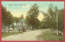 Clear Lake Mi Smith's Hotel Michigan Postcard BJs - $10.00