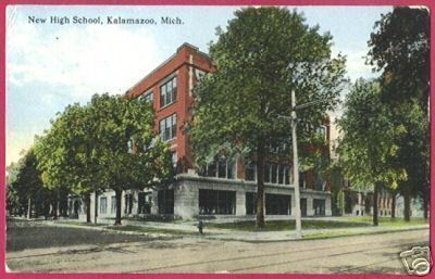KALAMAZOO MICHIGAN New High School 1914 MI BJs