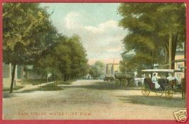 Watervliet MI Postcard Main Street Michigan BJs - $6.00