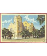 ST PETERSBURG FLORIDA M E Church First Ave Linen FL - $6.00