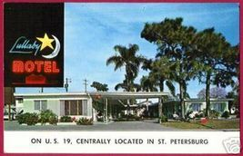 ST PETERSBURG FLORIDA Lullaby Motel Moon Star US19 - $4.00