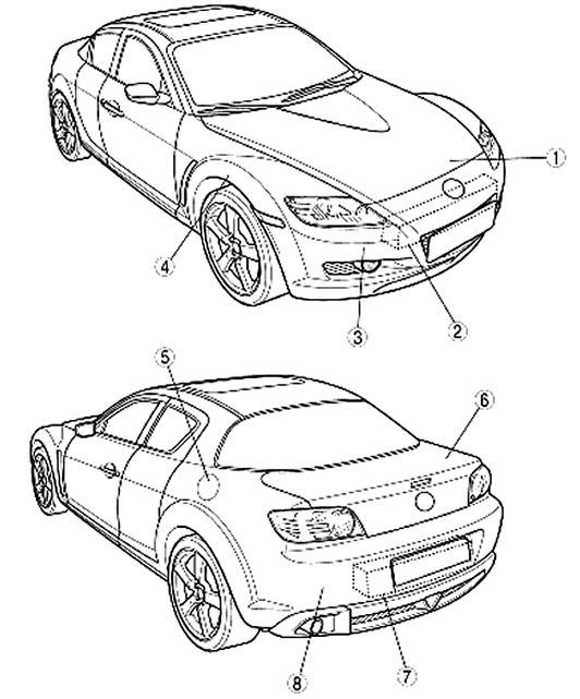 Mazda Rx8 Rx 8 2004 2009 Factory Oem Service And 50 Similar Items