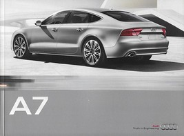 2011 Audi A7 sales brochure catalog US 11 3.0 - $10.00