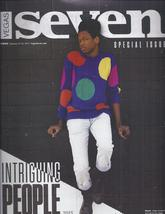 Shamir In Intriguing People, W & W, Shift @ Vegas Seven  Magazine Jan 2014  - $4.95