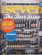 The Beer Issue Erick Morillo, Conor Mcgregor Vegas Seven  Magazine Sep/Oct 2014  - $5.95
