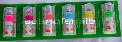 6 x Tube THAI POY - SIAN Inhaler Relief Cold Dizzy