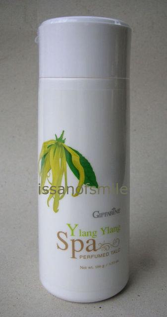 Thai Ylang Ylang Spa Perfumed Talc Body Skin Powder 100g.