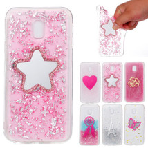 Glitter Bling Clear Bumper Soft Crystal Slim Back Case Cover for Samsung J7 2017 - $3.97