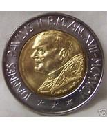 POPE JOHN PAUL II / CAIN SLAYING ABEL VATICAN 1995 COIN uncirculated - $27.43
