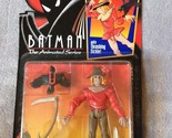 Batman The Animated Series SCARECROW Action Figure 1993 Kenner MOC