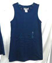 Gymboree Dress/Jumper Blue Reversible 5 6 XL Autumn Berries NWT Vintage ... - $11.64