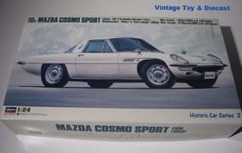~ Hasegawa  1968 Mazda Cosmo Sport - 1:24 model car kit  Mint in Box - $24.00
