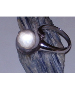HAUNTED 925 SILVER RING BALL CRYSTAL 2 MARIDS K... - $4,500.00