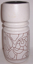 1960's LAPID Israel Solid Ceramic Vase Signed D - $85.99