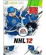 NHL 12 (Microsoft Xbox 360, 2011) DISC IS MINT - $3.82