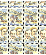 C92-93a Complete Sheet of 100 Wright Brothers 31 Cent Airmail Stamps - $47.50
