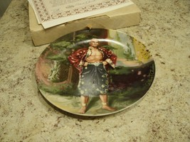 Beautiful Vintage 1985 Edwin Knowles The King and I A Puzzlement Plate w... - $15.79