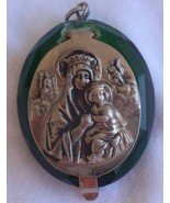 mini green Rosary box - $19.00