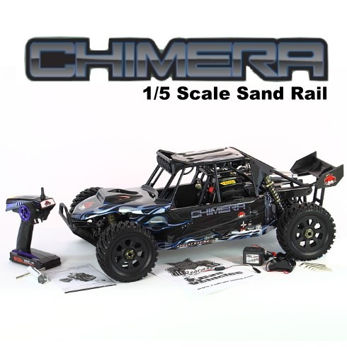 REDCAT RAMPAGE CHIMERA 1/5 SCALE GASOLINE SAND RAIL 4X4 FREE SHIPPING