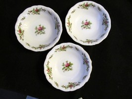 "Johann Haviland's Traditions ""Moss Rose"" Set of 3 Fruit Bowls - $18.68"