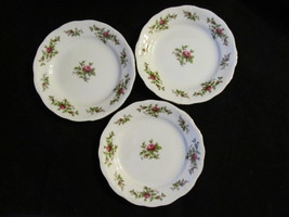 "Johann Haviland's Traditions ""Moss Rose"" Set of 3 Pie Plates - $23.36"