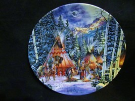 """Kirk Randle's Sacred Circle Series """" Before The Hunt"""" Collector Plate - $23.36"""