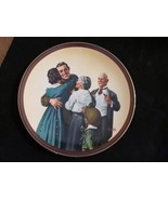 "Norman Rockwell's""The Homecoming"" in (The Ones We Love Series) Coll. Plate - $18.68"