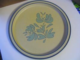 "Vintage  Pfaltzgraff Pottery"" Yorktowne"" Potpourri Press Metal Serving Tray - $28.04"