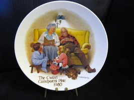 "Joseph Csatari's Grandparent Series "" The Bedtime Story"" Collector Plate - $18.68"