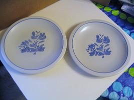 "Vintage  Pfaltzgraff Pottery"" Yorktowne"" Pair of Dinner Plates - $26.17"