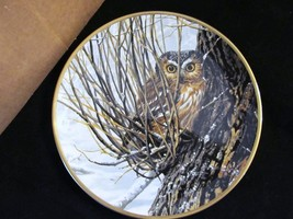 "John Seerey Lester's Noble Owls of America ""Hiding Place"" Collector Plate - $23.36"