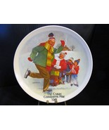 "Joseph Csatari's Grandparent Series "" The Skating Lesson"" Collector Plate - $18.68"