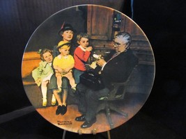 "Norman Rockwell's Heritage Collection"" The Family Doctor"" collector Plate - $18.68"