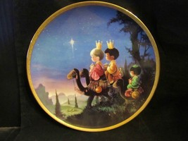 """Vintage Precious Moments """"They Followed The Star """" Collector Plate - $23.36"""