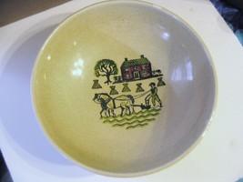 "Vintage Metlox Poppytrail Vernon "" Homestead Provincial "" Round Salad Bowl - $44.87"