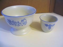 """Vtg.  Pfaltzgraff Pottery"""" Yorktowne"""" Sherbert Bowls - $33.65"""